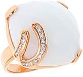 White Agate Ring