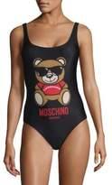 Moschino One-Piece Teddy Swimsuit