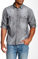 Seven7 Classic Fit Chambray Long Sleeve Shirt