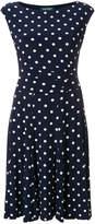 Lauren Ralph Lauren polka dot pleated dress