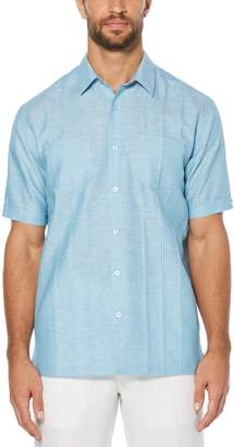 Cubavera Short Sleeve Tucks 2 Pocket Shirt