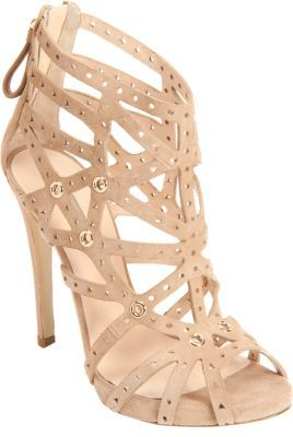 Armani Privé Perforated Cage Sandal