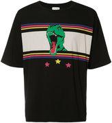 Saint Laurent dinosaur-print T-shirt