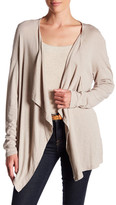 Three Dots Luz Drape Cardigan