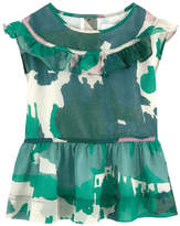 Burberry Printed voile dress