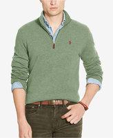 Polo Ralph Lauren Men's Half-Zip Merino Sweater