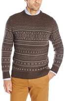 Woolrich Men's Cross Country Fair Isle Crew Sweater