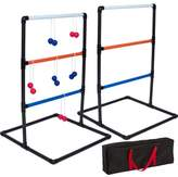 Trademark Innovations PVC Toss Game Ladder Ball Set
