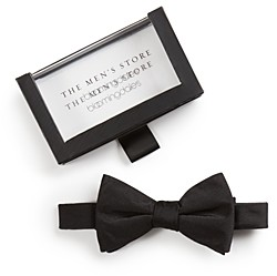 The Men's Store at Bloomingdale's Solid Satin Pre-Tied Bow Tie - 100% Exclusive