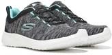 Skechers Women's Burst Equinox Memory Foam Slip On Sneaker