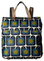 Orla Kiely Love Birds Print Backpack Backpack Bags