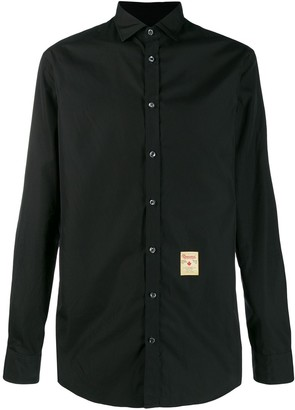 DSQUARED2 Vintage Tag Poplin Shirt