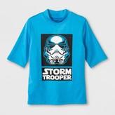 Star Wars Boys' Rashguard - Turquoise