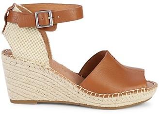 Gentle Souls Celisse Leather Wedge Sandals