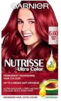 Garnier Nutrisse 6.60 Fiery Red Permanent Hair Dye