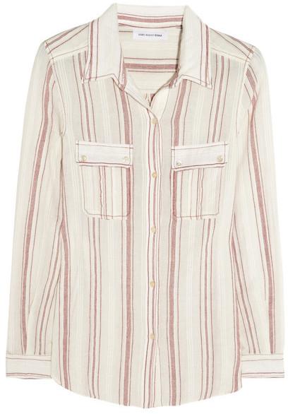 Etoile Isabel Marant Layne cotton-gauze shirt