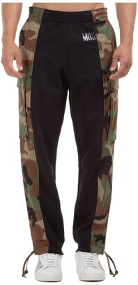 Moschino Camouflage Logo Track Pants