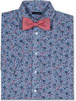 Tommy Hilfiger Floral-Print Short Sleeve Shirt & Bowtie, Big Boys