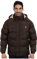 U.S. Polo Assn. Classic Short Bubble Coat w/ Small Pony