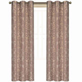 Laura Ashley Duchess 2-Pack Grommet-Top Jacquard Curtain Panels