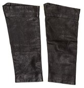 John Varvatos Leather Boot Covers w/ Tags