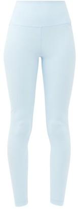 Wardrobe NYC Release 02 High-rise Jersey Leggings - Light Blue