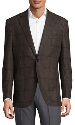 Luciano Barbera Checkered Jacket