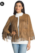 Chico's Fringe Cape
