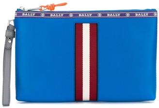 Bally stripe trim clutch