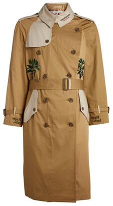 Children of the Discordance Embroidered Trench Coat