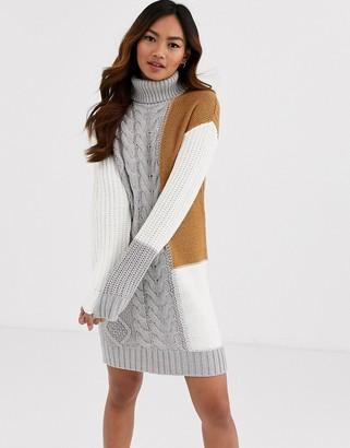 Brave Soul mixture jumper dress