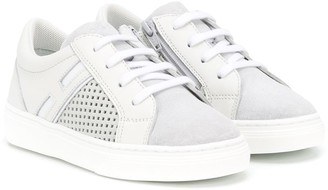 Hogan Perforated Low-Top Trainers