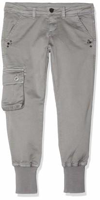 MEK Girl's Pantalone Twill Color Tinto Capo Trouser