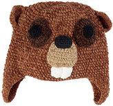 San Diego Hat Company Brown Beaver Beanie