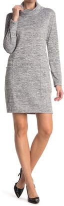 Cotton Emporium High Funnel Neck Dress