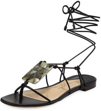 Paul Andrew Pearl Driver Tie Sandals