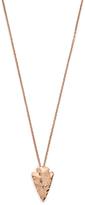 Mini Arrowhead Pendant Necklace