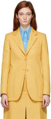 Stella McCartney Yellow Recycled Amanda Tailored Jacket