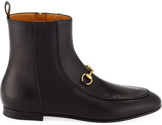 Gucci Jordaan Leather Bootie