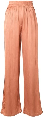 Alexis High-Waisted Wide-Leg Trousers