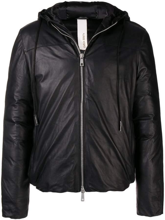 Giorgio Brato padded zipped jacket
