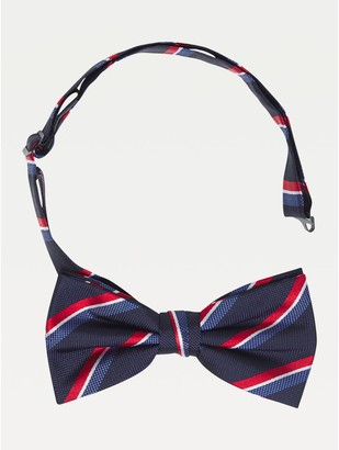 Tommy Hilfiger Microprint Silk Bow Tie