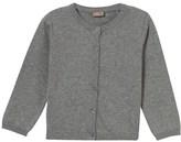 Hust&Claire Light Grey Melange Knit Cardigan