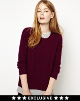 CC Cashmere by John Laing Cable Crew Neck Sweater in 100% Cashmere