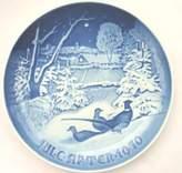 Bing & Grondahl 1970 B&G Jule After Christmas Plate Bing Grondahl Plate Collectors Plate