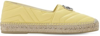 Gucci 20mm Pilar Quilted Leather Espadrilles