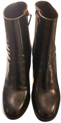 Church's Black Leather Ankle boots