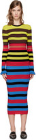 Opening Ceremony Multicolor Striped Dress