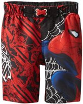 Spiderman Dreamwave Boys 8-20 Swim Trunk