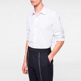 Paul Smith Men's Tailored-Fit White Poplin Shirt